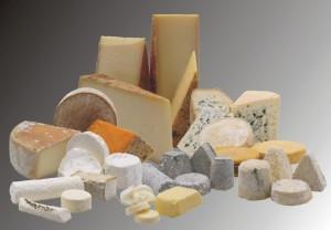 Insieme di formaggi.sfondo